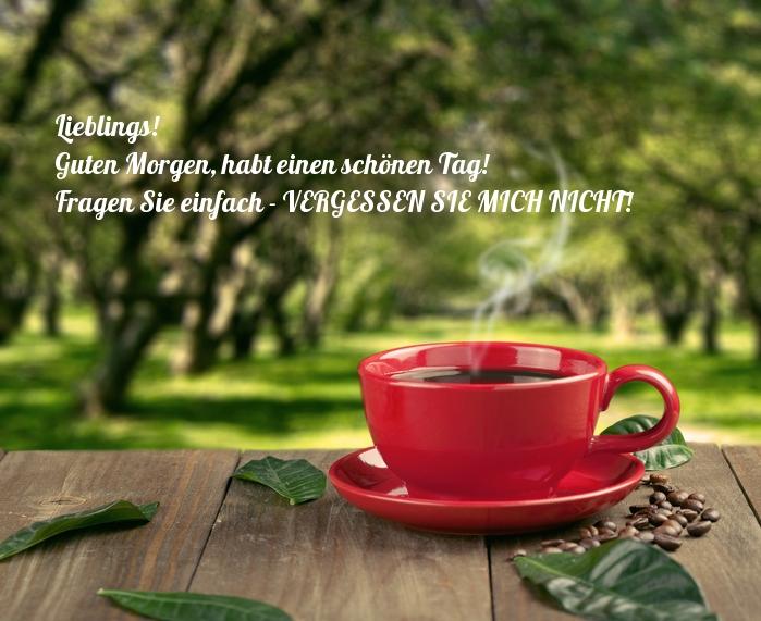 Schönen schatz tag guten morgen einen und Guten Morgen